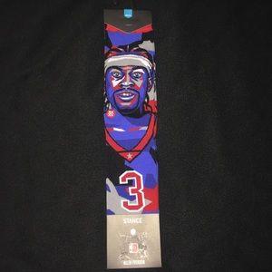 Philadelphia 76ers Allen Iverson Socks